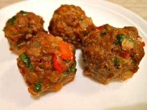 Thai Paleo Beef Meatballs